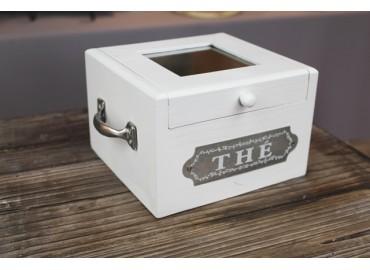 """Drewniane pudełko """"Thé"""""""